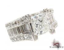 Princess Cut Diamond Wedding Ring ダイヤモンド 婚約 結婚指輪