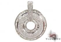 Prong Diamond Pendant 30692 Stone