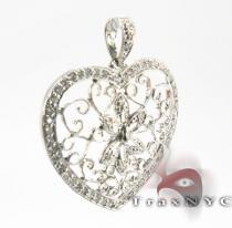 Flower Heart Pendant 2 Style