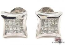 Diamond Stud Earrings 30784 Mens Diamond Earrings