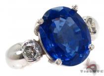Oval Cut Tanzanite Diamond Ring ジェムストーン ダイヤモンド リング
