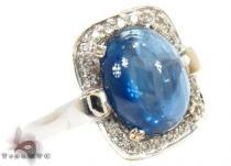 Star Sapphire Diamond Ring ジェムストーン ダイヤモンド リング
