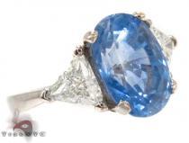 Elsa Sapphire Diamond Ring ジェムストーン ダイヤモンド リング