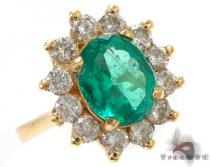 Green Fresh Emerald Ring ジェムストーン ダイヤモンド リング