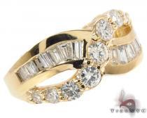 Custom Diamond Journey Ring レディース ダイヤモンド リング