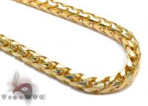 10K Gold Franco Chain 36 Inches 5mm 131 Grams Gold Chains