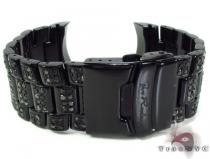 Black Diamond & Steel Junior Watch Band Watch Accessories