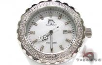 Techno Master White Ceramic Diamond Watch Techno Master