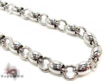 Stainless Steel Chain 26 Inches, 6mm, 56.7 Grams Stainless Steel Chains