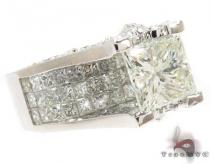 Princess Cut Wedding Ring 2 Diamond Wedding Rings