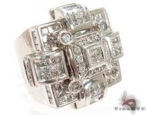 Invisible Diamond Ring 31176 Mens Diamond Rings