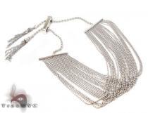 14K Draped Chain Bracelet ゴールドブレスレット