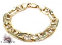 14K Gold Mariner Bracelet 31273 Gold