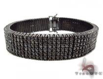 Prong Black Diamond Bracelet 31293 メンズ ダイヤモンド ブレスレット