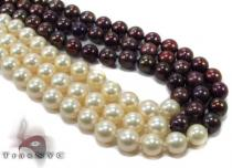 3 Strand Black and White Pearl Necklace 2 Pearl