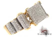 Silver Micro-Pave Diamond Ring 31519 Silver Rings For Women