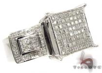Silver Micro-Pave Diamond Ring 315230 Silver Rings For Women