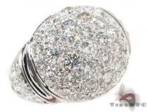 18K White Gold Diamond Ball Ring 31556 レディース ダイヤモンド リング