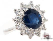 Sapphire & Diamond Ring 31557 ジェムストーン ダイヤモンド リング