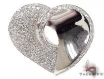 Diamond Pave Heart Pendant ダイヤモンドペンダント