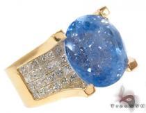 Blue Sapphire & Diamond Ring 32019 ジェムストーン ダイヤモンド リング