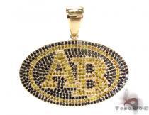 14K Gold Prong Diamond AB Pendant 32022 ダイヤモンド ペンダント