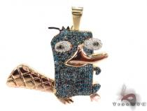 Prong Diamond Custom Pendant 32023 ダイヤモンド ペンダント