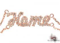 14K Rose Gold Bracelet 32045 Diamond
