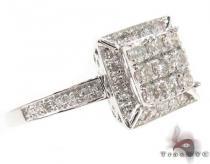 14K White Gold Diamond Ring 32050 レディース ダイヤモンド リング