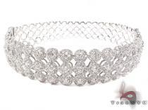 Prong Diamond Bracelet 32076 ダイヤモンド バングル