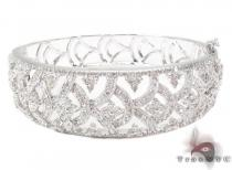 Prong Diamond Bracelet 32078 ダイヤモンド バングル