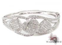Prong Diamond Bangle Bracelet  32192 ダイヤモンド バングル