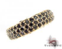 Prong Black Diamond Ring 32208 メンズ ブラックダイヤモンド リング