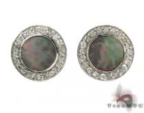 Mother of Pearl Earrings 32212 メンズ ダイヤモンドイヤリング ピアス