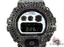 Casio G-Shock Black Silver & CZ Watch G-Shock