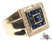Royal Sapphire Ring Pinky Rings