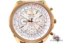 Breitling Motors Bentley GMT Yellow Gold Watch ブライトリング Breitling