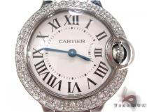Brand New Cartier Ballon Bleu 28mm Size Watch Cartier Diamond Watches