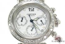 Cartier Pasha Chronograph Automatic Watch Cartier Diamond Watches