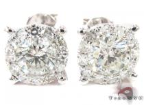 Prong Diamond Earrings 32670 Mens Diamond Earrings