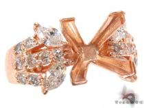 Rose Butterfly Semi Mount Ring 32711 セミマウント ダイヤモンド リング