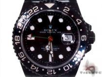 Rolex GMT Master II Black DLC/PVD 16710 ロレックス ダイヤモンド コレクション