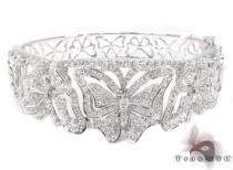 Prong Diamond Bracelet 32072 ダイヤモンド バングル