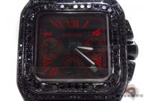 Cartier Santos Red Dial Watch Cartier
