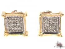 Micro-Pave Diamond Earrings Mens Diamond Earrings