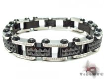 Prong Diamond Stainless Steel Bracelet 32982 Stainless Steel Bracelets