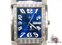 Aqua Techno Diamond & Stainless Steel Watch アクアテクノ