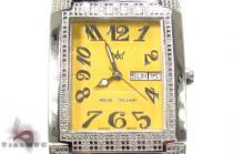 Aqua Techno Diamond with Stainless Steel Watch アクアテクノ