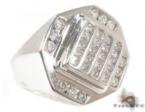 Channel Diamond Ring 33161 Stone