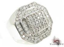 Prong Diamond Ring 33163 Mens Diamond Rings
